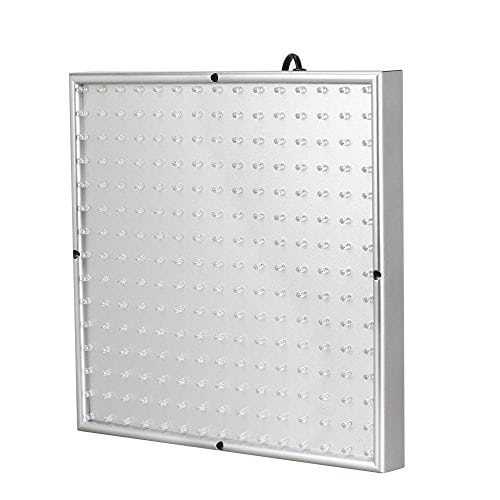 Flexzion 225 LED Grow Light Panel Blue + Red 14 Watt Hydroponic Plant Lamp For Indoor Garden