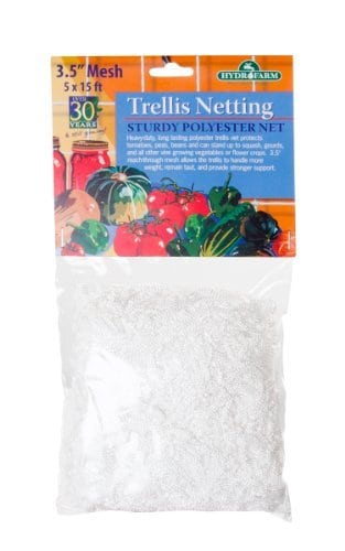 Hydrofarm-HGN15S-Trellis-Netting-35-Inch-Mesh-5×15-Outdoor-Home-Garden-Supply-Maintenance-0