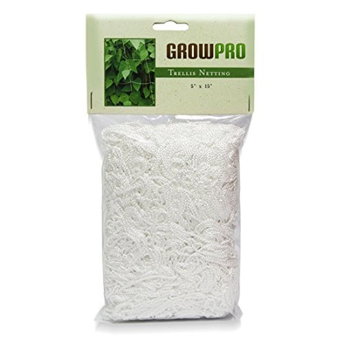 Grow Pro Heavy Duty Vertical Garden Trellis Mesh Netting, White. 🔍 Sale!