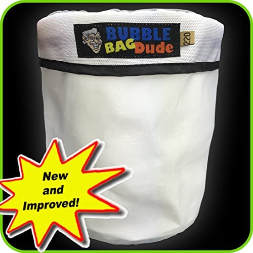 Bubble Bag Dude 220 Micron Zipper Bag for 20 Gal Bubble Machine Herbal Extractor
