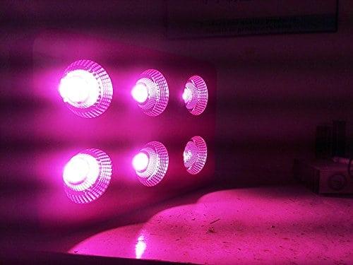 anjeet 1200w full spectrum cob led grow light system panel lamp indoor flower veg plant yard garden replace hps  3 vegetative flowering cob panels led grow lights #13