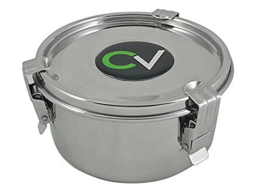 CVault-Humidity-Control-Airtight-Stash-Container-by-FreshStor-Size-Medium-4-x-225-8g-Boveda-Pack-Included-0