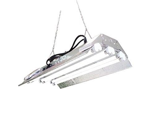 T5 HO Grow Light - 2 FT 6 Lamps - DL826S Fluorescent Hydroponic ...